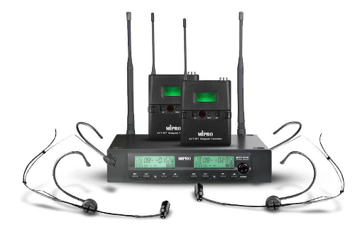 MIPRO ACT-3 Radio Microphone Transmitters and Receivers