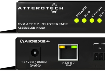 Attero Tech AIO2x2+ AES67 Interface