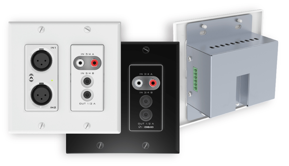 Attero Tech AES67 Wall Plate