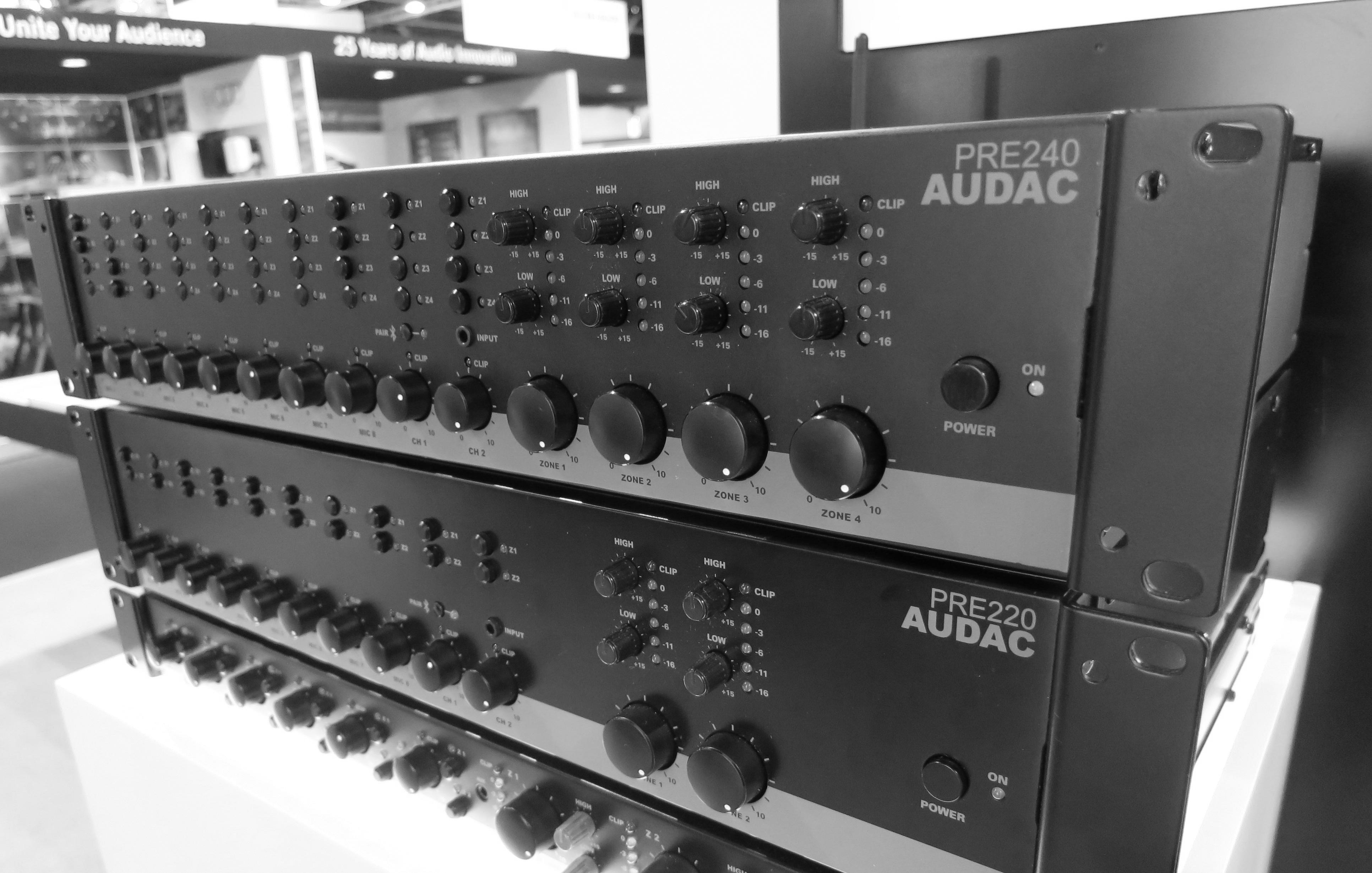 AUDAC PRE220 and PRE240