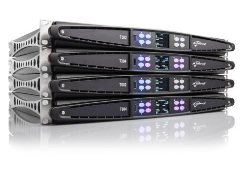 Powrrsoft T Series Power Amplifier Dante