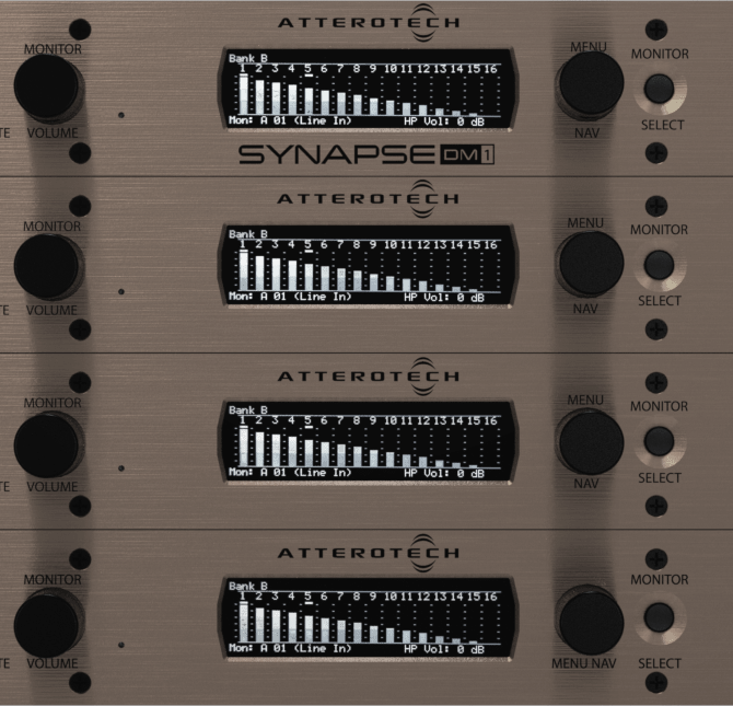 Dante Audio Interfaces Rack Mount