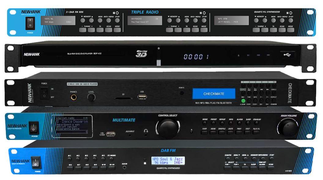 Newhank Blu-ray, DAB, FM