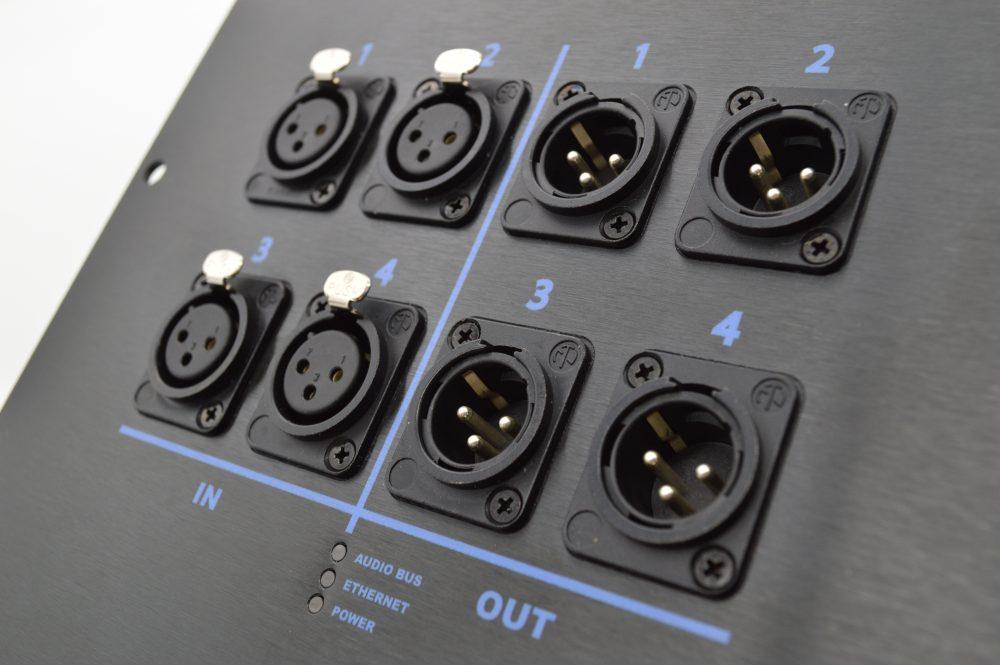 4 input dante stage box