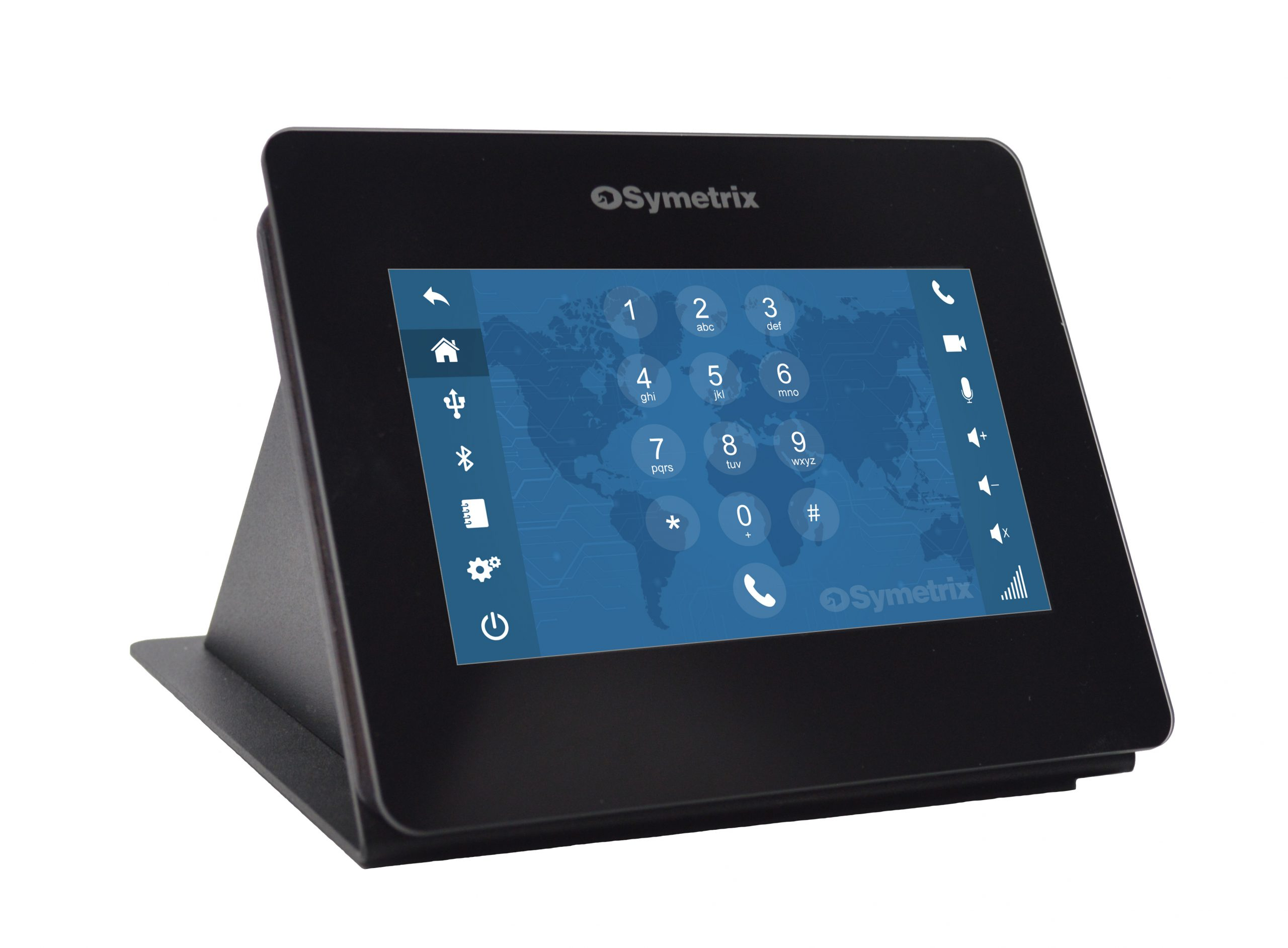 Symetrix Touchscreen VOIP Dialler