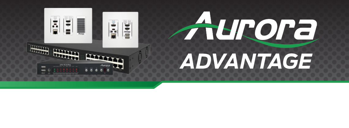 Aurora Multimedia SDVoE AV-over-IP