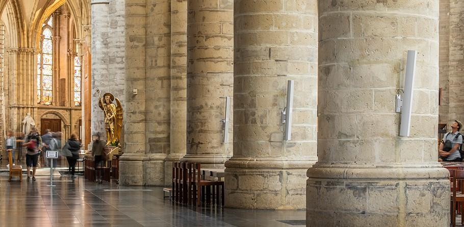 Church Column Speakers from AUDAC