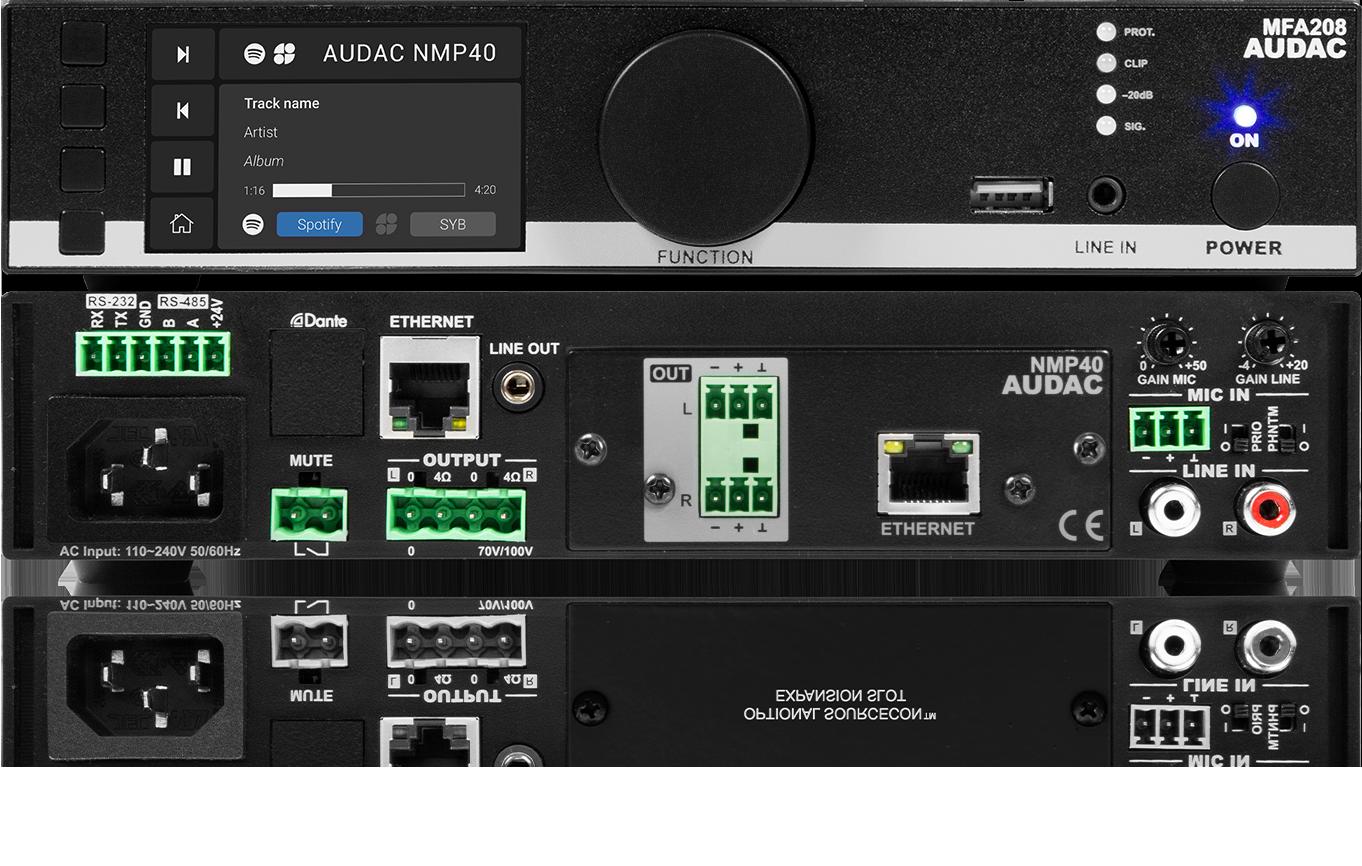 AUDAC MFA208 Audio System