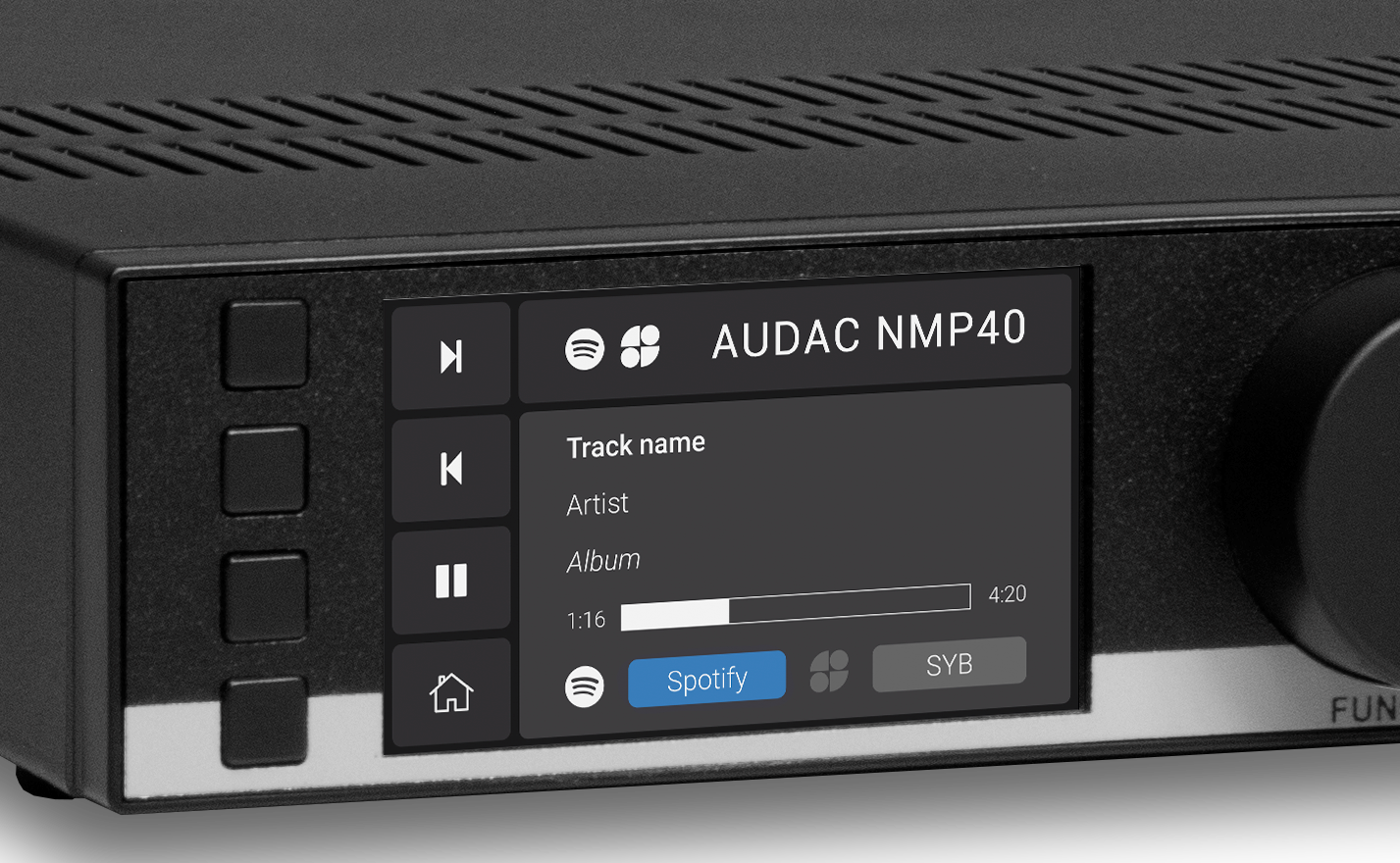 AUDAC MFA Background Music Amplifier